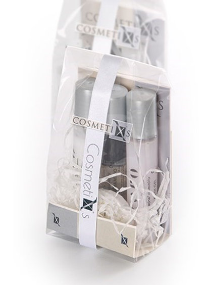 KIT DE 3 BOTELLAS ZERO 35 M.L.( GEL, CHAMPU Y BODY MILK ) CON PASTILLA DE JABON