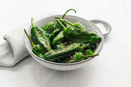 Foto - grüne Pimentos