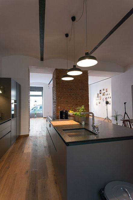 Intuo Küche im Kochstudio Wien ©feinkoch