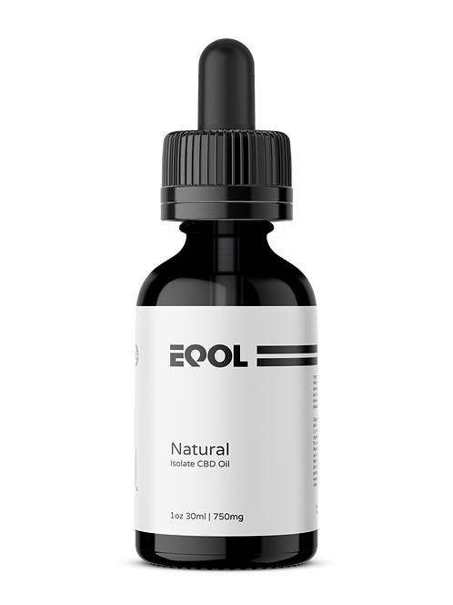 Isolate Oil 750mg | 1oz