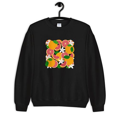 Grapefruit Party Sweatshirt