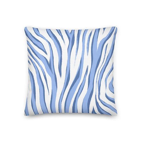 Zebra Pattern Pillow