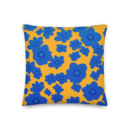 Brunnera Pattern Pillow