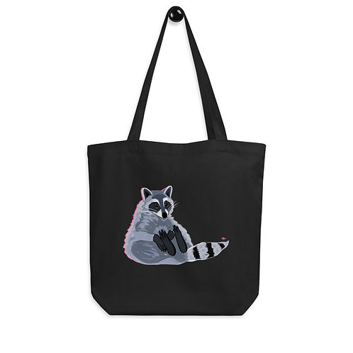Raccoon Eco Tote Bag