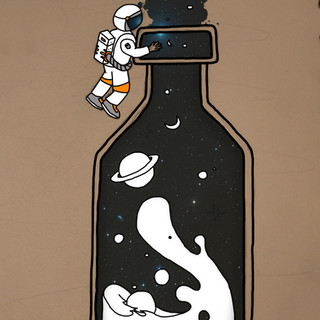 Milky-Way Bottle
