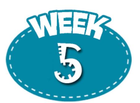 Week 5 7/20-7/25/2020
