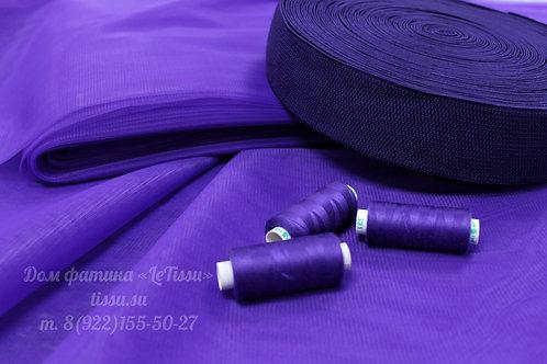 """Резинка """"Букле"""", фиолетовый"""