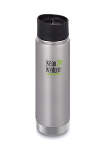 Klean Kanteen, coffee thermos or water bottle. Non-toxic.