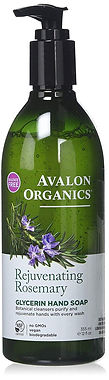Avalon Organics Rosemary Hand Soap, 12 o