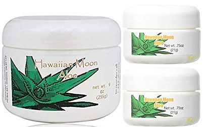 Hawaiian Moon Aloe Cream 9 Ounce Jar and