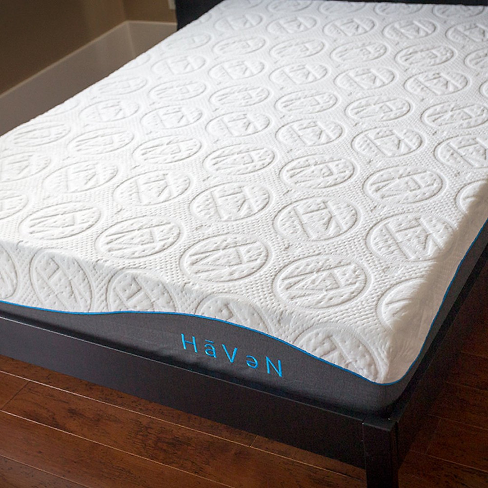 Non toxic, coil less, natural foam and latex mattress. The best Canadian bed in a box mattress.