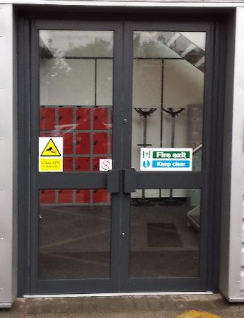 Aluminium door by condor door systems