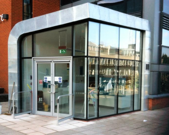 shop front installed by Condor