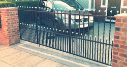 Gate installed by Condor