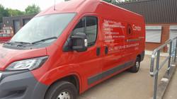 Condor Door Systems Van