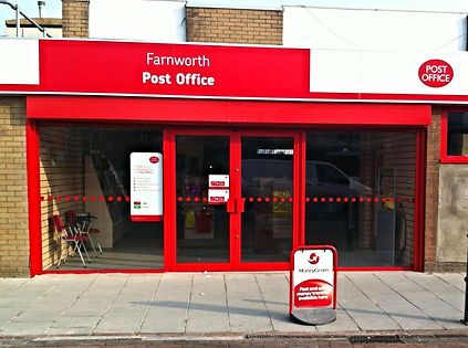 Post office shop front condor door systems