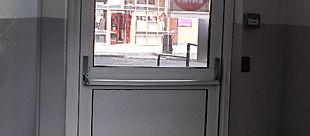Lock closer panic bar Condor Door Systems
