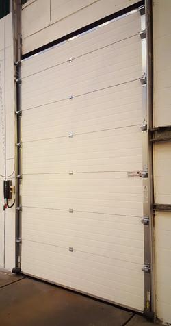 Sectional door installed by Condor