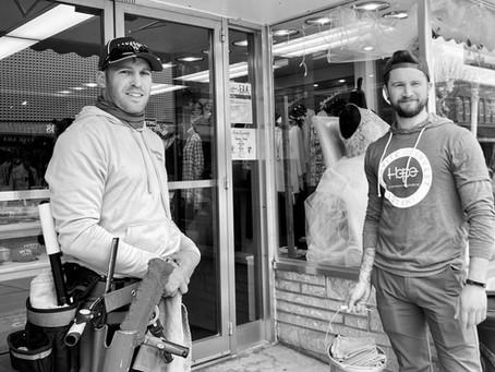 Volunteers Beautify Shawano Downtown