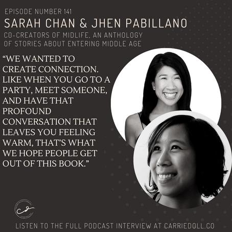 Sarah Chan and Jhen Pabillano