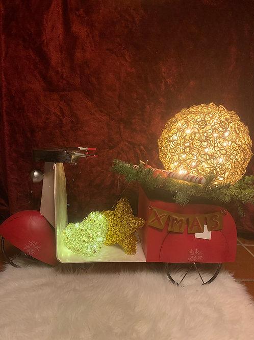 Jute-Leuchtkugel gefertigt von Ariane Vollmar