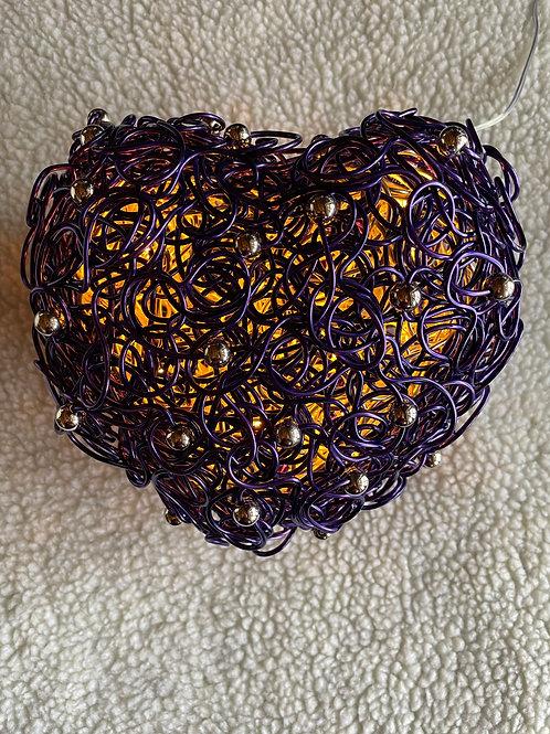 """Herzleuchte: """"Die Farbe lila"""""""