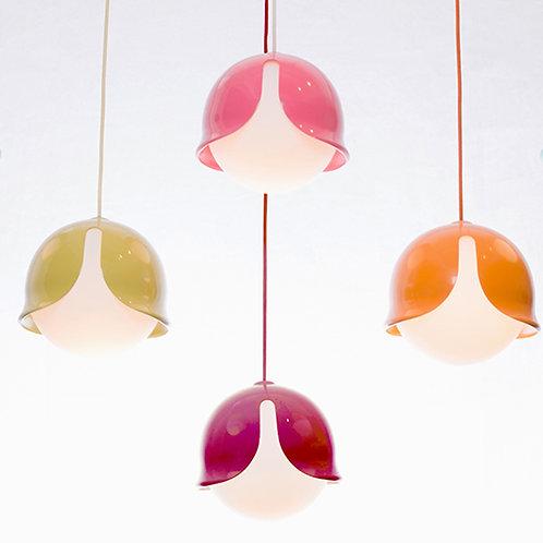 Trendige Designer-Hängeleuchte Snowdrop in auffallendem Design