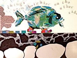 """""""Big-Eyed Fish""""fish"""