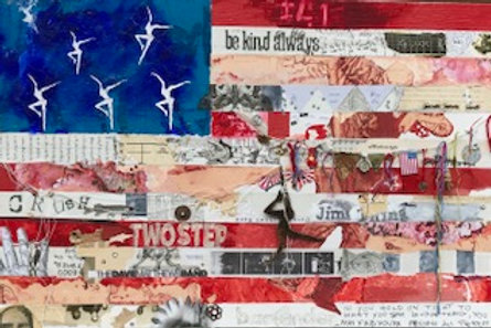 """""""United States of Dave"""" SOLD Original Painting"""
