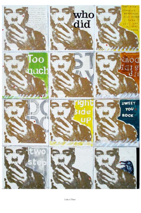 """Lots o' Dave"" Poster"