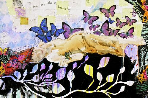 """""""Butterfly"""" Giclée Large"""