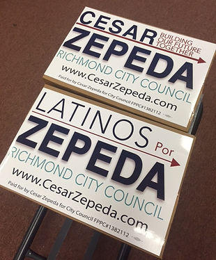 Cesar Zepeda for City Council, Latinos for Zepeda, LatinX, Richmond City Council, Richmond CA