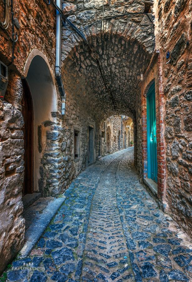 Alley in Mesta