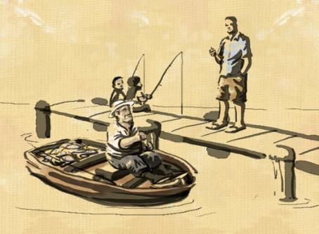 מי לא  זוכר את הסיפור על הדייג(ולמה בכלל לזכור אותו)