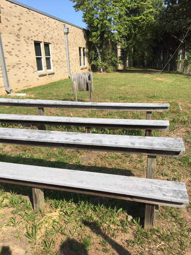 Benches before