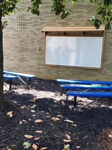 Rock Chapel outside classroom