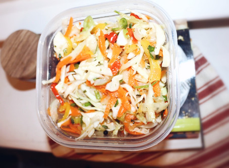 Keeping it Hot and Spicy with Haitian Pikliz (Pickled Vegetable Relish)