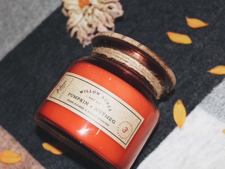 Fall Candles To Create Ambiance of Relaxation and Zen