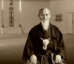 Aikido Cardiff - Morihei Ueshiba