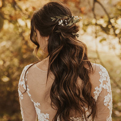 wedding styling, updo, wedding hair