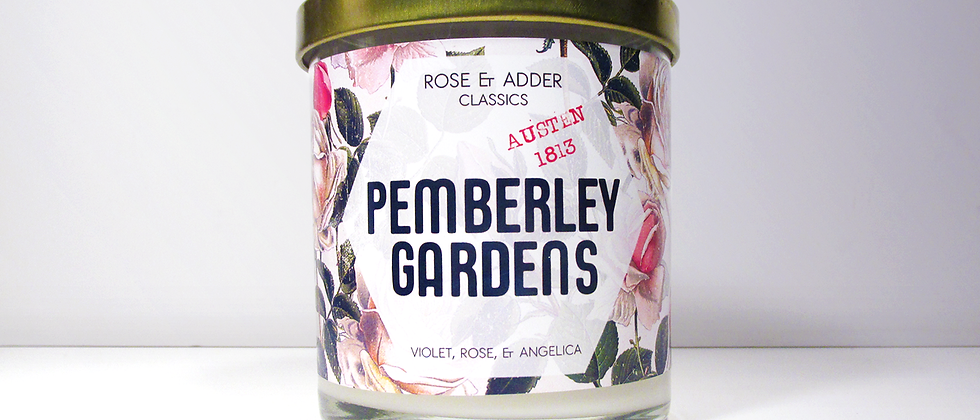 Pemberley Gardens - Jane Austen Inspired - Pride and Prejudice