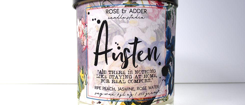 Austen - Jane Austen Inspired Bookish Candle