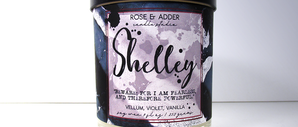 Shelley - Marry Shelley / Frankenstein Inspired