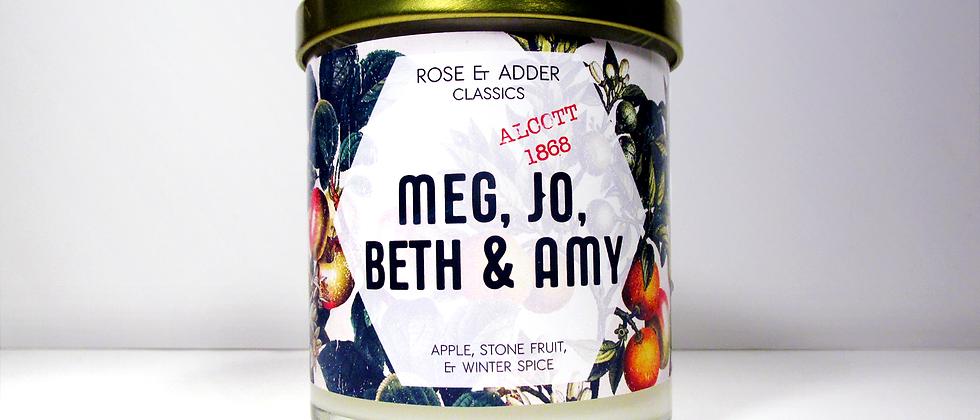 Meg, Jo, Beth & Amy - Little Women Inspired
