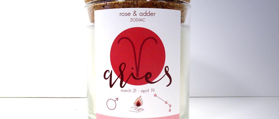 Aries Zodiac Candle