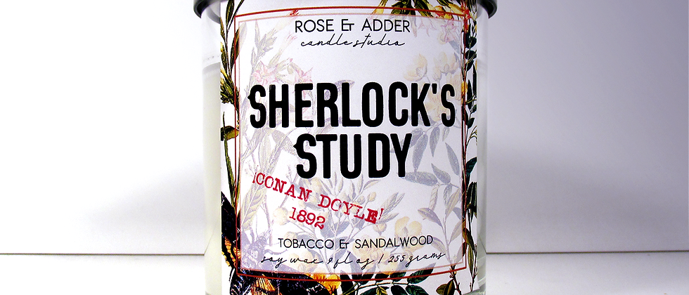 Sherlock's Study - Sherlock Holmes Inspired