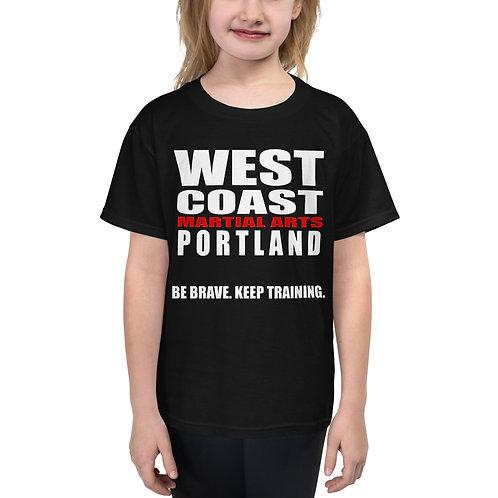 """WEST COAST """"BE BRAVE"""" T-Shirt"""