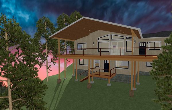 ROOF AND DECK EXTENSION