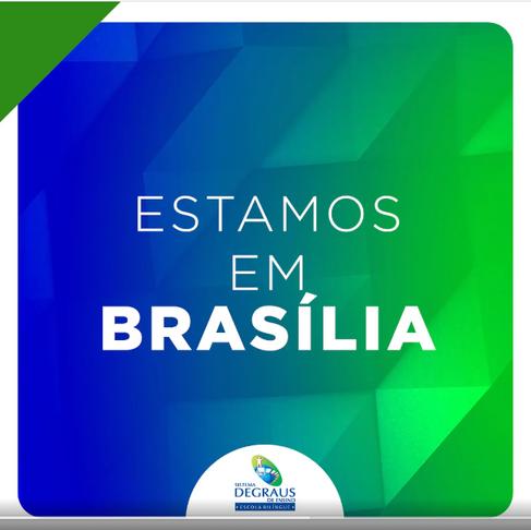 Estamos em Brasília