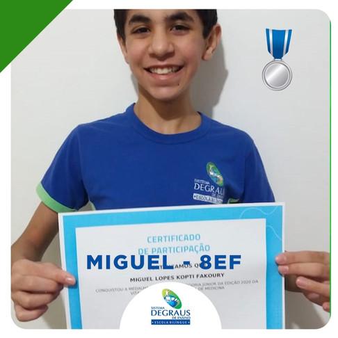 Somos Prata na Olimpíada Brasileira de Medicina (OBMED)
